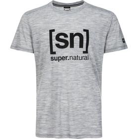 super.natural Essential I.D. - Camiseta manga corta Hombre - gris